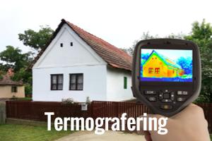 Termografering og termografisk undersøgelse knap